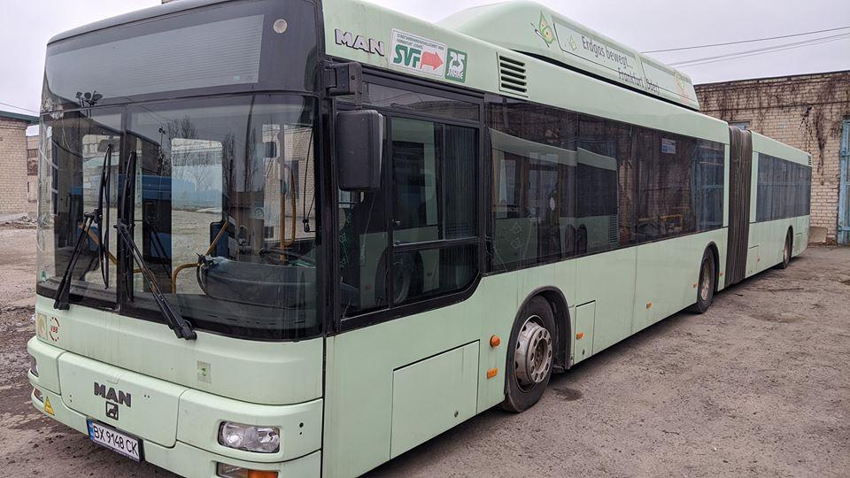 В Днепре запустят автобусы-гармошки. Новости Днепра