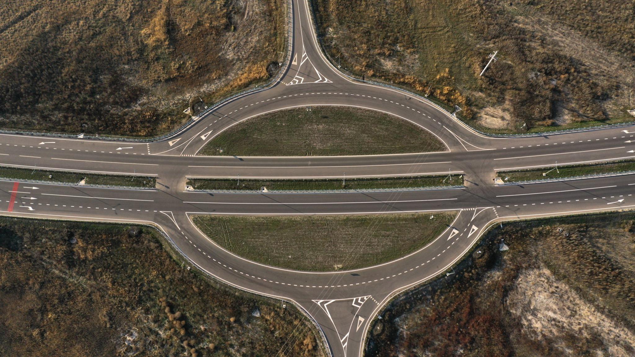 «В полях и болотах»: строительство новой трассы из Днепра. Новости Днепра