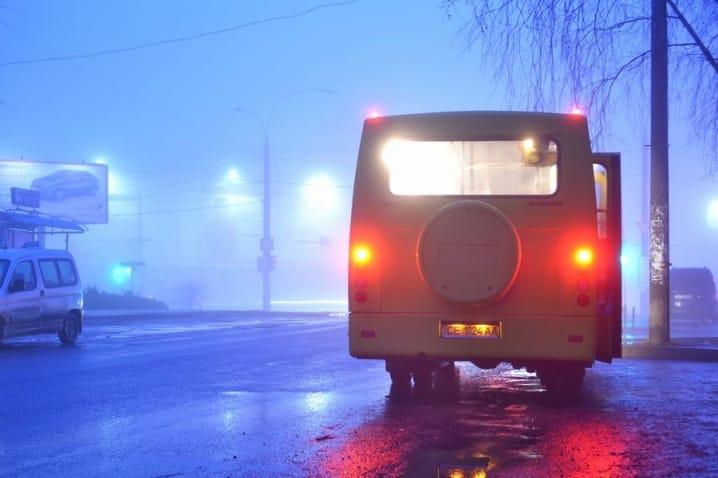 Тонконогий о задержке маршруток из-за тумана. Новости Днепра