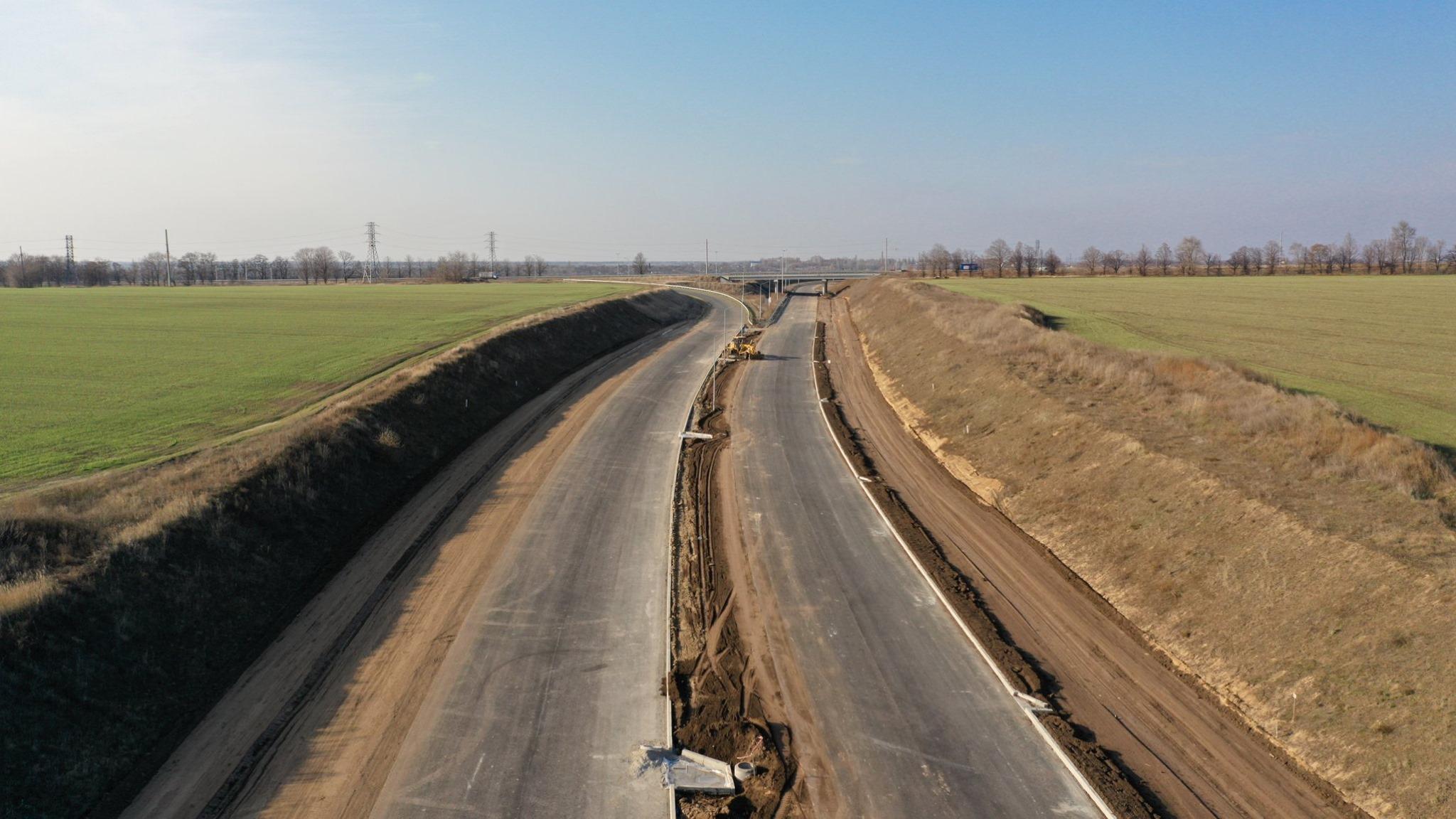 «Процесс идет»: как сейчас выглядит объездная дорога вокруг Днепра. Новости Днепра
