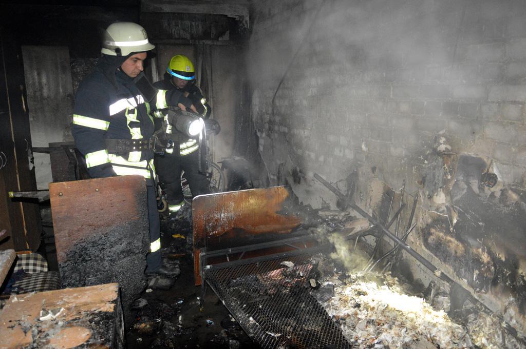 Пожар в пансионате Днепра: пострадал пациент. Новости Днепра