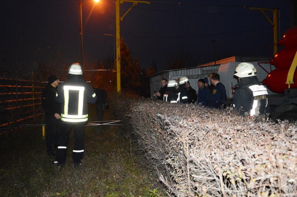 Спасатели о ЧП на заправке в Днепре. Новости Днепра