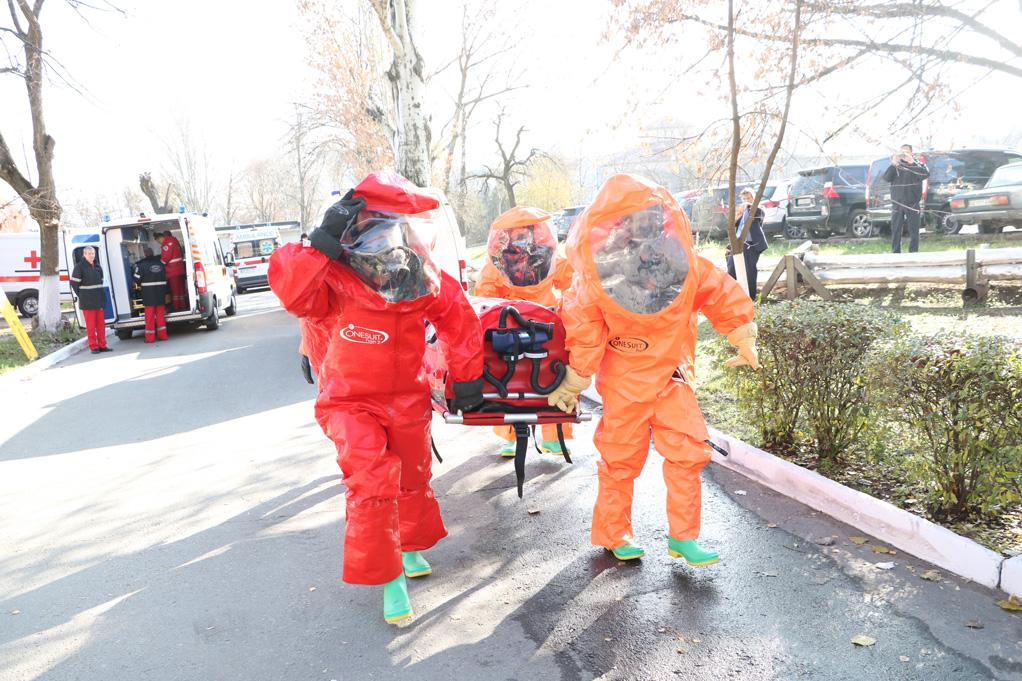 «Химическая угроза» в больнице Мечникова: что происходило. Новости Днепра