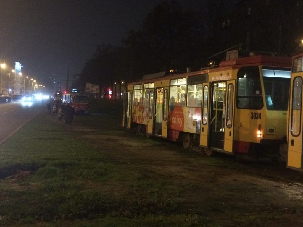 В Днепре сломался трамвай: движение заблокировано. Новости Днепра