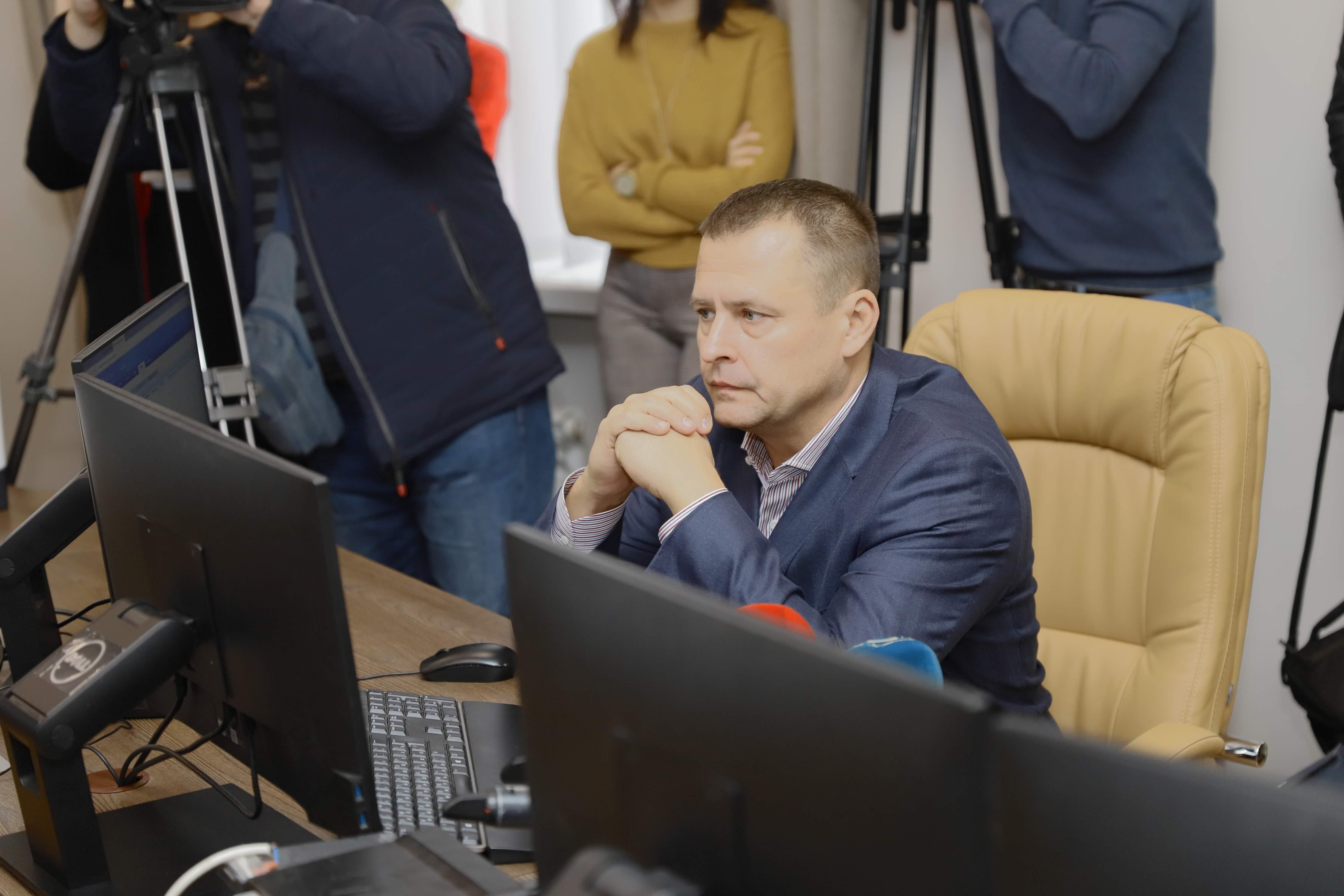 Филатов рассказал о Ситуационном центре. Новости Днепра