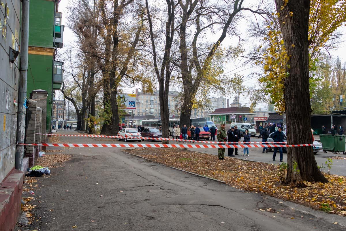 В Днепре взрывотехники проверяли подозрительную сумку. Новости Днепра