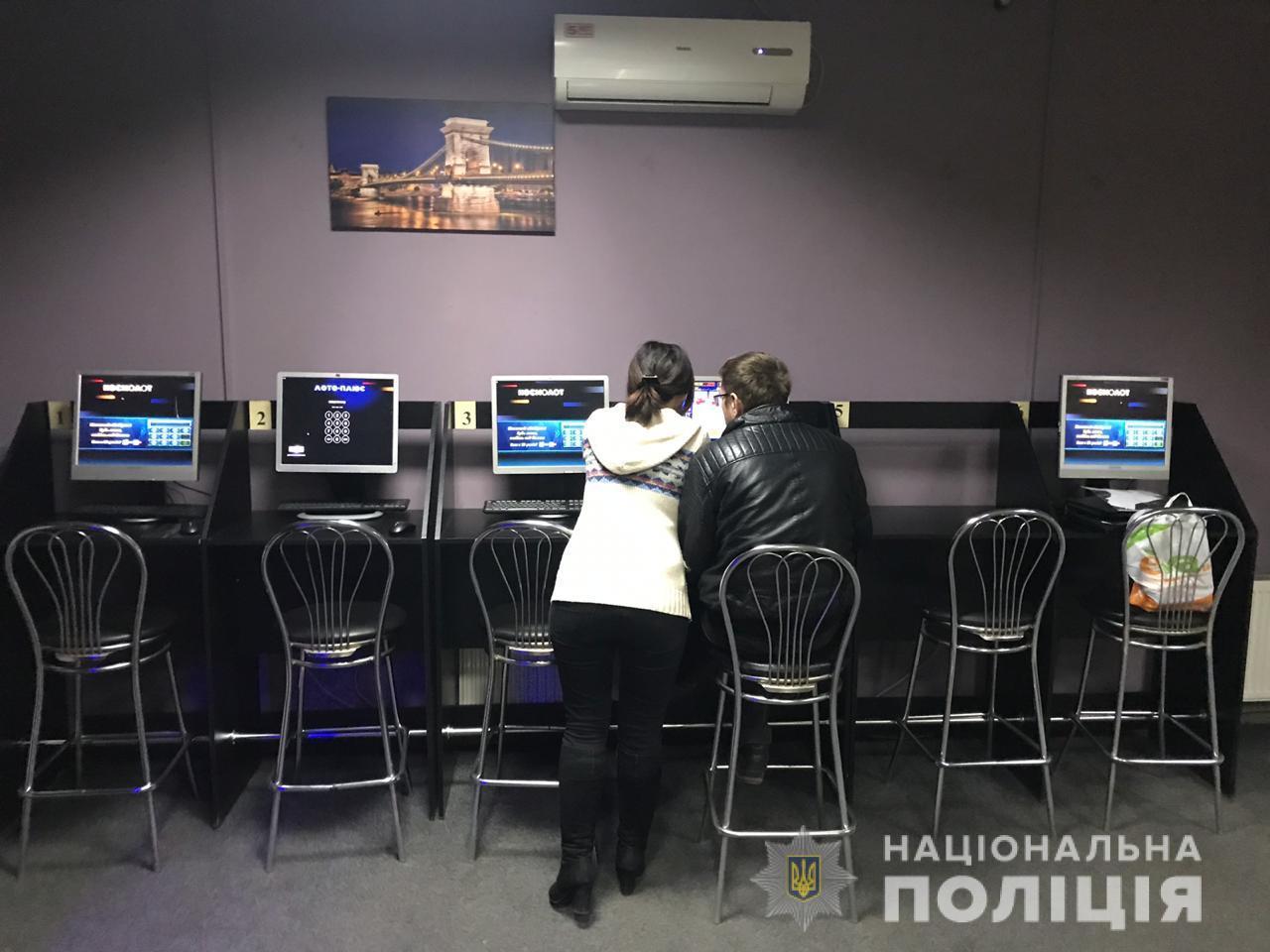 «Game over»: полиция закрыла очередные «игровые автоматы». Новости Днепра