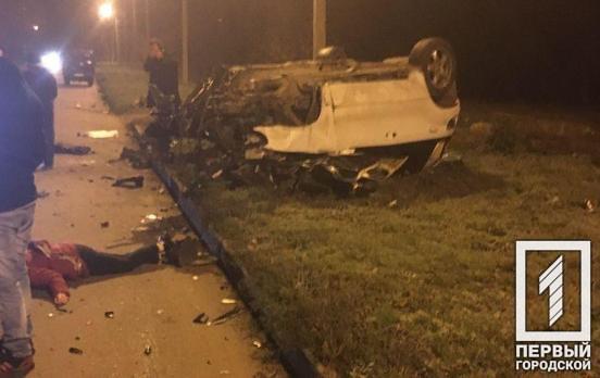 В результате аварии пострадала женщина. Новости Днепра