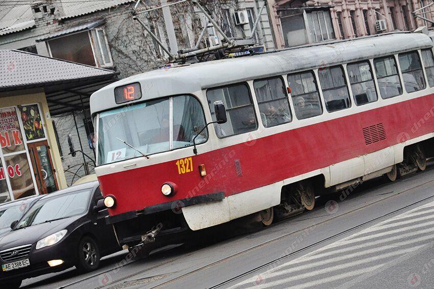 Сегодня трамваи Днепра изменят свой маршрут. Новости Днепра