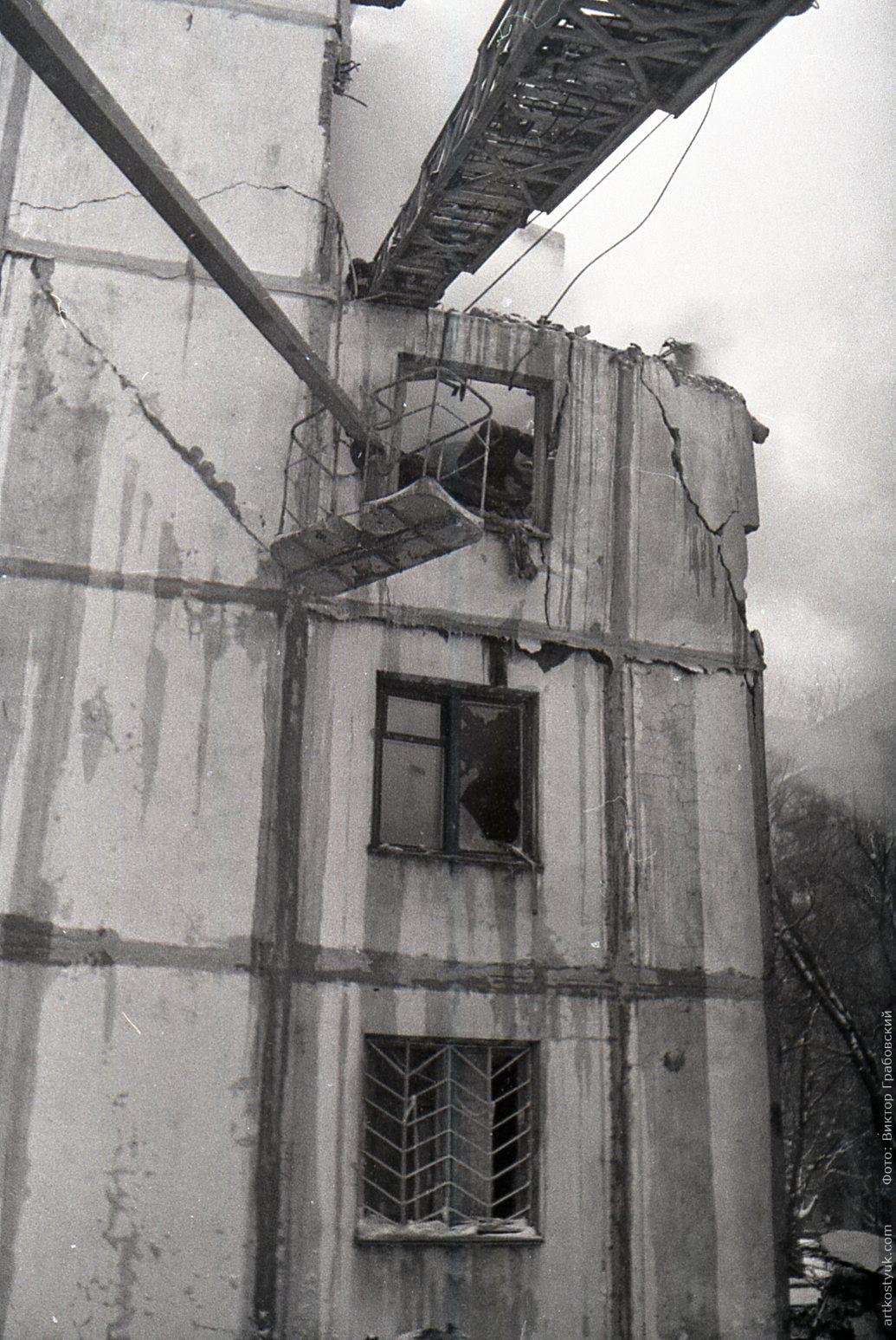 Опубликованы снимки взорвавшегося 23 года назад в Днепре дома. Новости Днепра
