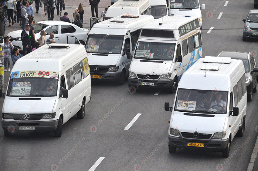 Ситуация на дорогах Днепра: задержки транспорта из-за ДТП. Новости Днепра