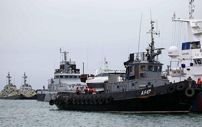 В Украину возвращаются захваченные Россией корабли. Новости Украины