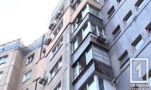 Из окна высотки выпал мужчина