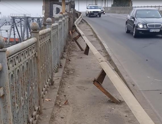 «Ни пройти, ни проехать»: мост в Днепре нуждается в ремонте. Новости Днепра