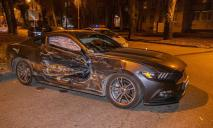 В Днепре в ДТП разбили престижный спорткар