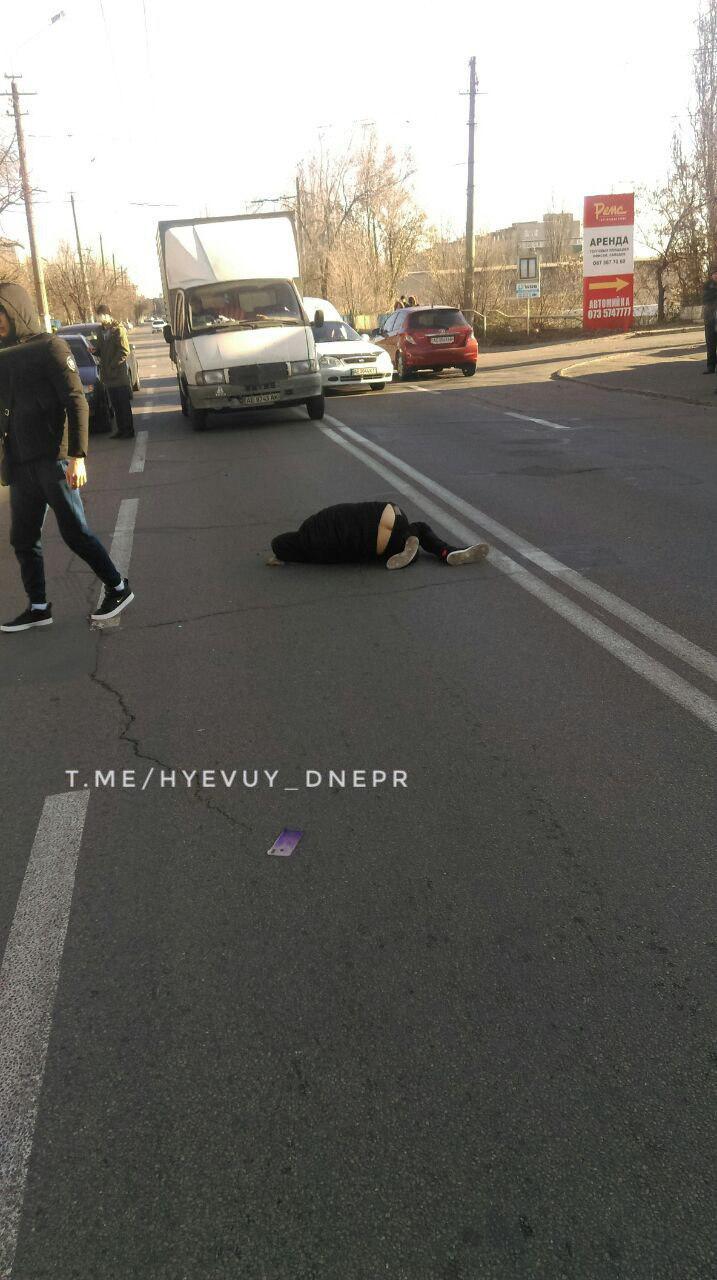 Шел в наушниках: в Днепре сбили человека. Новости Днепра