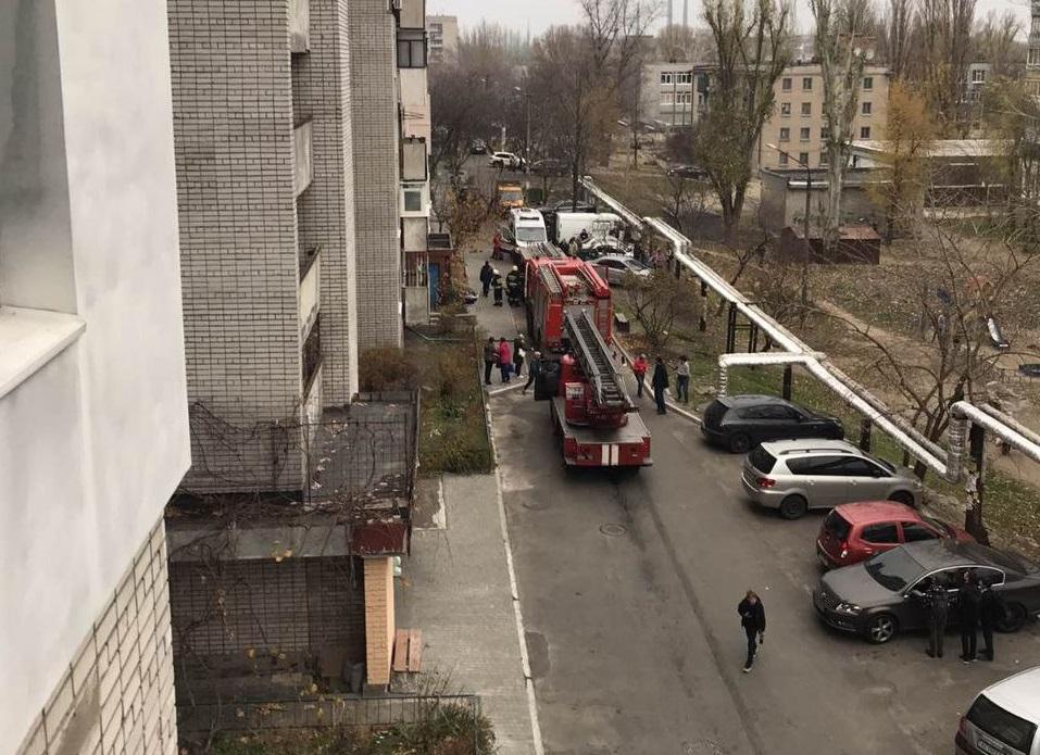 «Не взрыв»: пожар в многоэтажке в Днепре. Новости Днепра