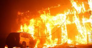 На пожаре погибли двое людей. Новости Днепра