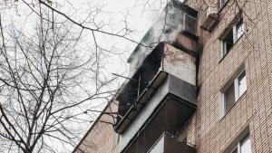 Женщина с дочерью чуть не погибли на пожаре. Новости Днепра