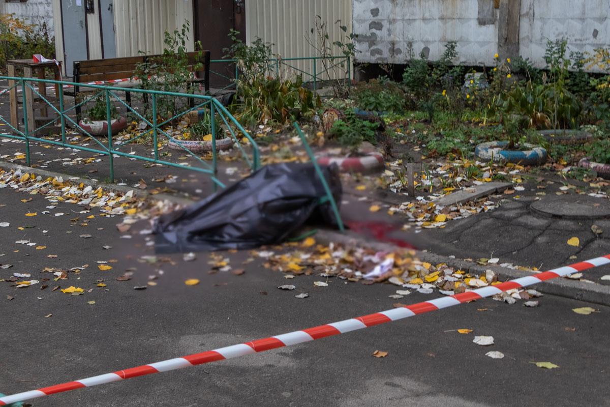 В Днепре женщина упала с 16-го этажа многоэтажки. Новости Днепра