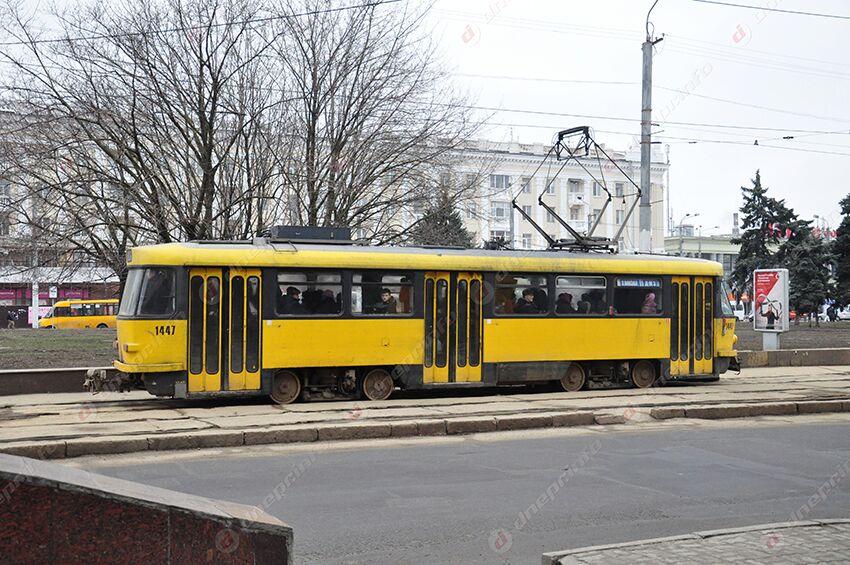 Трамваи в Днепре на несколько дней изменят свой маршрут. Новости Днепра