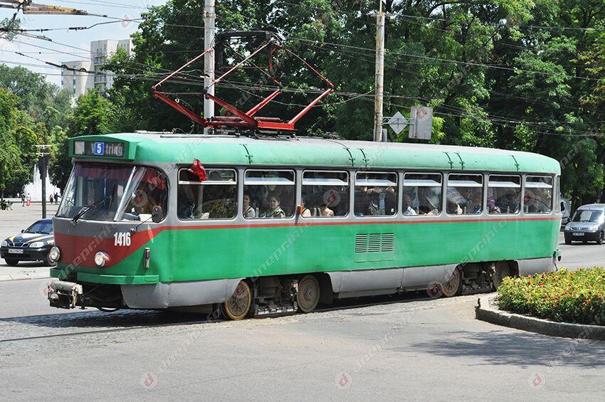 Трамваи Днепра изменят свой маршрут: расписание. Новости Днепра