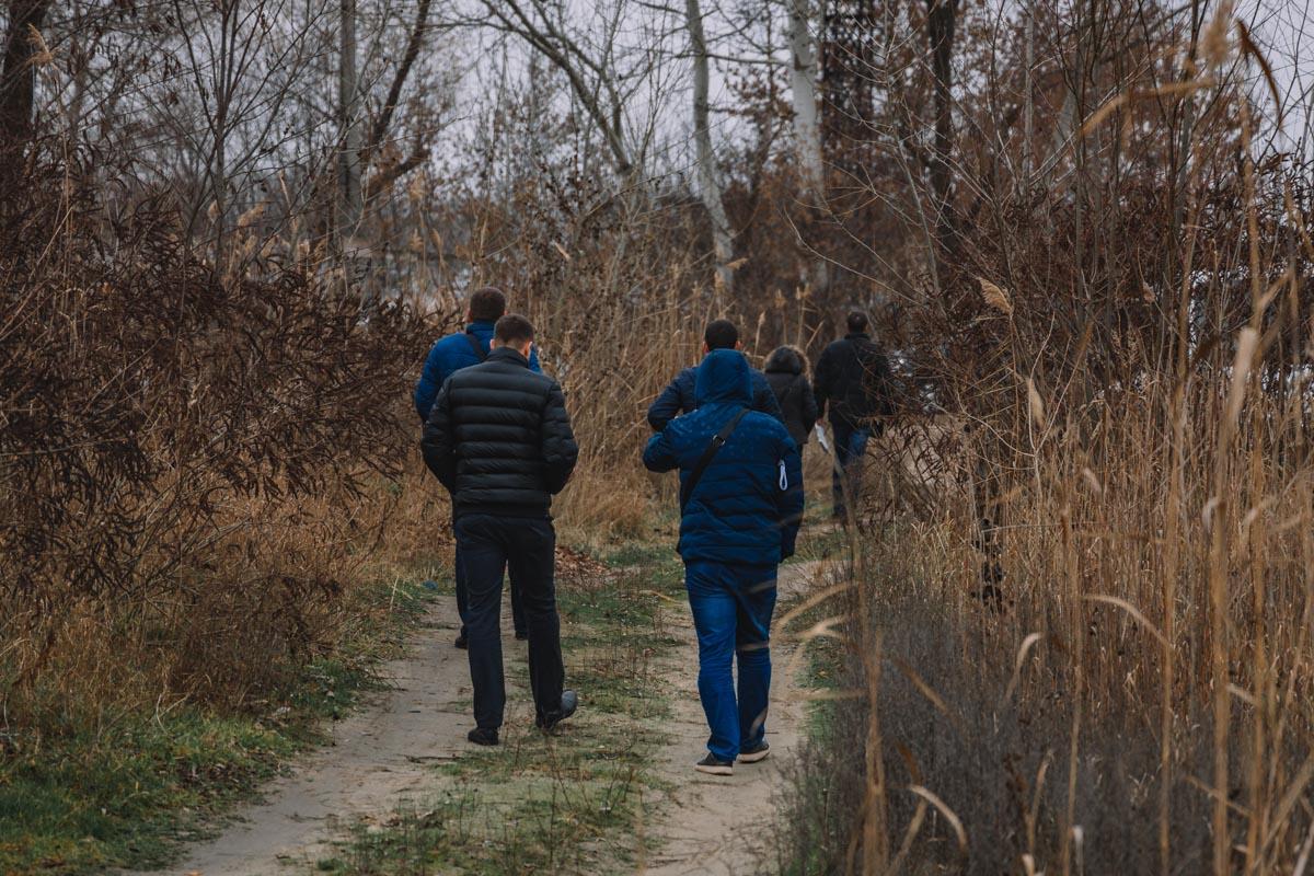 В Днепре в лесу найден труп мужчины. Новости Днепра
