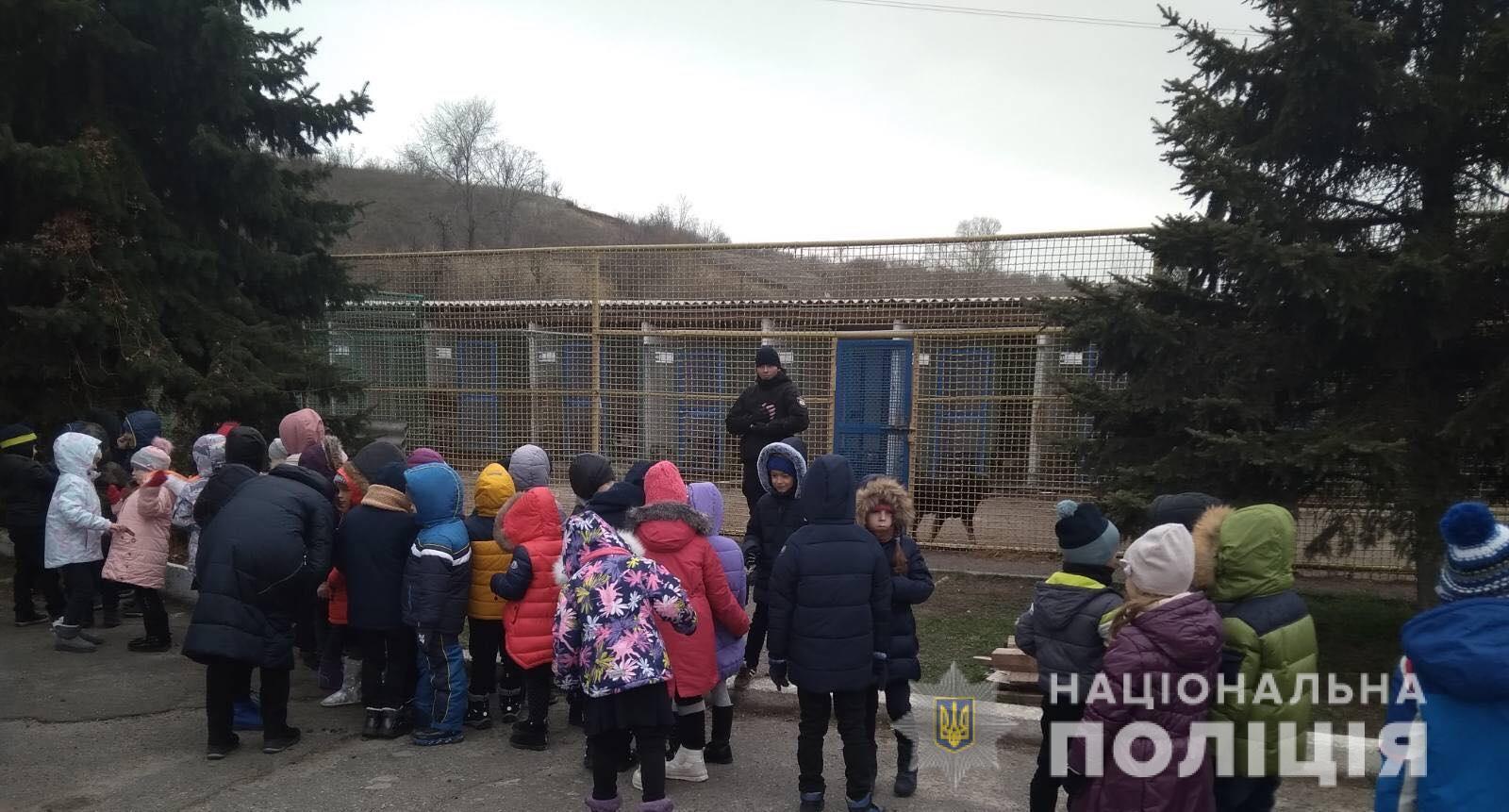 Школярам Дніпра показали, як тренують службових собак. Новини Дніпра