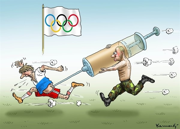 Россию на 4 года отстранили от Олимпийских игр. Новости мира