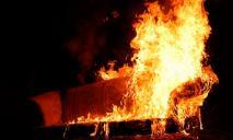 Жилой дом загорелся, пока внутри находился человек: подробности