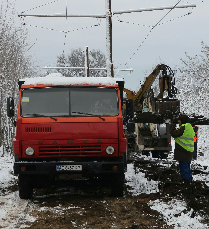 В Днепре ремонтируют трамвайные пути. Новости Днепра