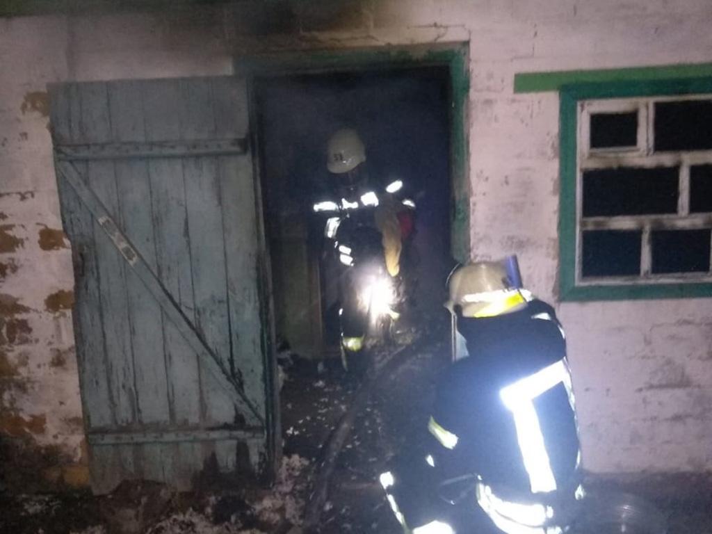 Пожар в жилом доме: есть погибший. Новости Днепра