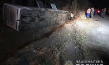 Перевернулся пассажирский автобус Днепр-Польша: есть пострадавшие