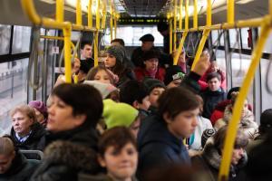 Пассажиры возмущены состоянием маршрутки. Новости Днепра