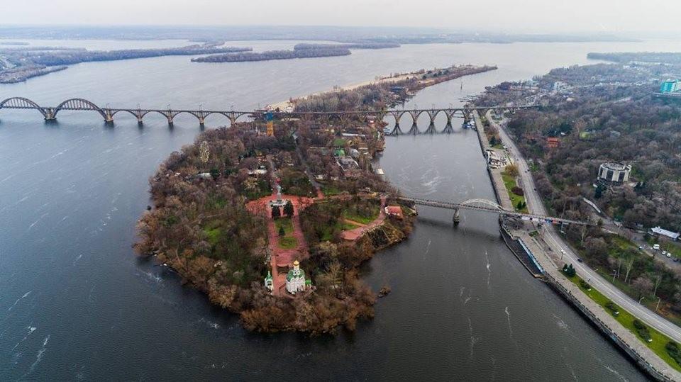 На Монастырский остров в Днепре могут построить еще 1 мост. Новости Днепра