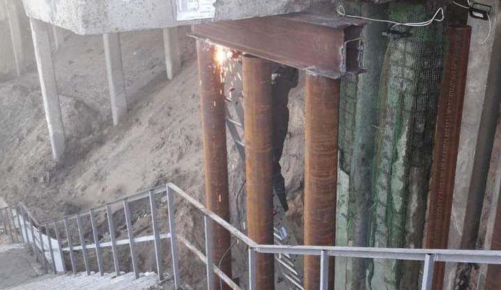 В Днепре ремонтируют путепровод на Слобожанском. Новости Днепра