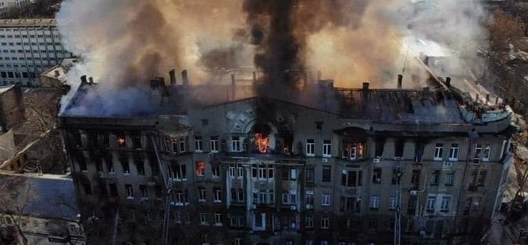 В Днепре общежитие оказалось в дыму. Новости Днепра