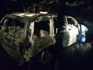Машина загорелась на ходу. Новости Днепра