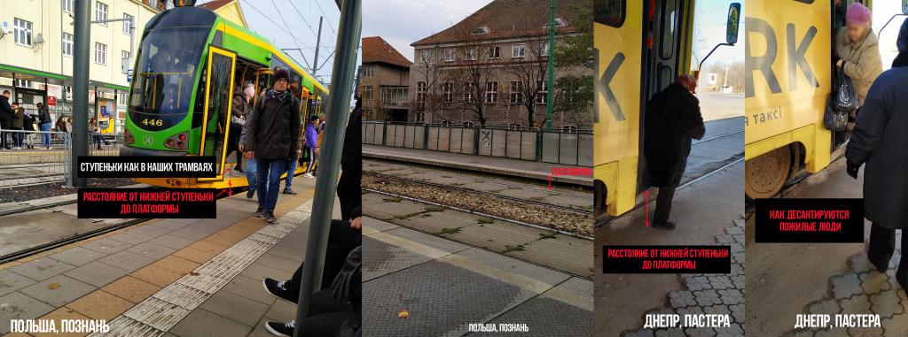 В Днепре предлагают обустроить трамвайные остановки. Новости Днепра