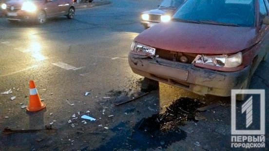Новости Днепра про «Из-за невнимательности» на пешеходном переходе столкнулись легковушки