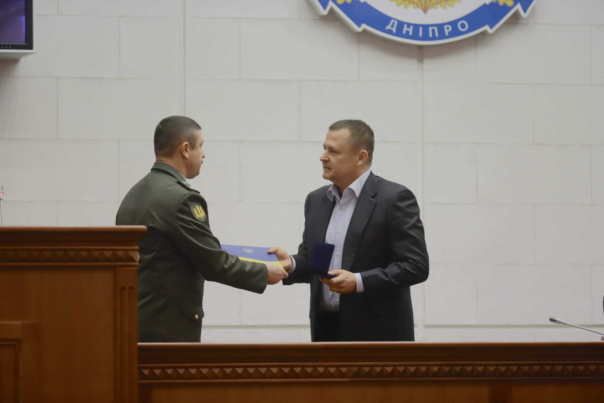 Бориса Филатова наградили на сессии горсовета. Новости Днепра