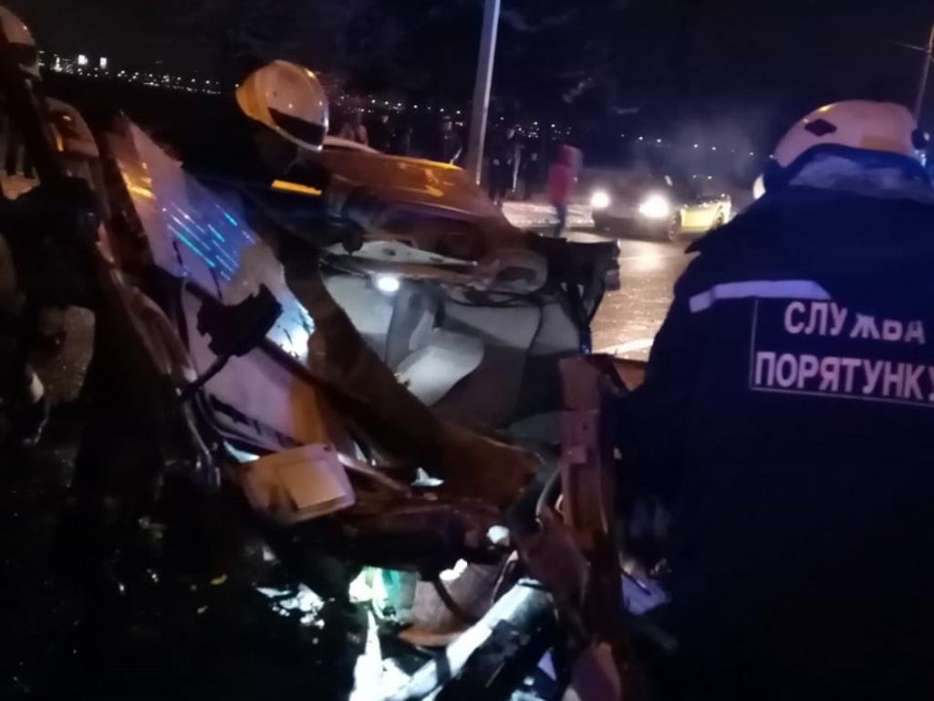 Появилось видео смертельного ДТП на Малиновского. Новости Днепра