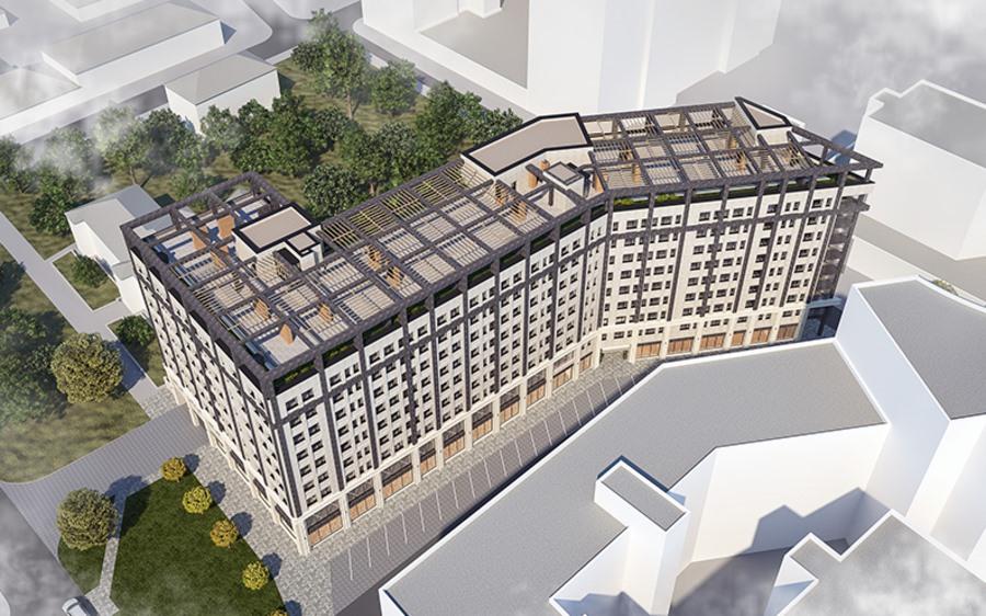 В центре Днепра начали строить новый многофункциональный комплекс. Новости Днепра
