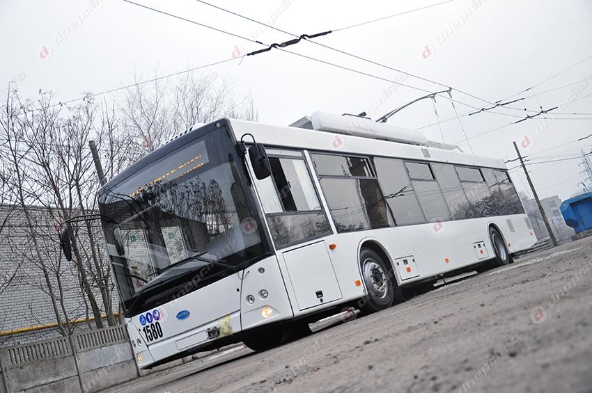 В Днепре создали новую остановку троллейбусов. Новости Днепра