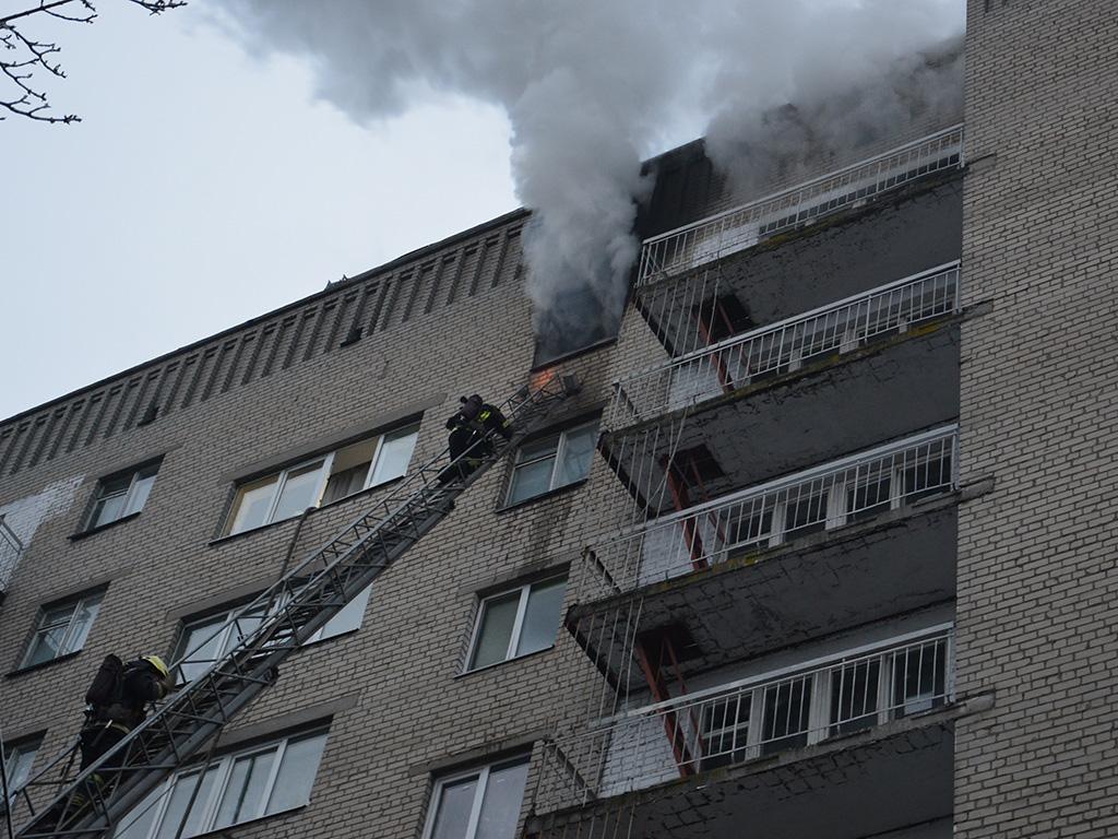 В Днепре горело студенческое общежитие. Новости Днепра