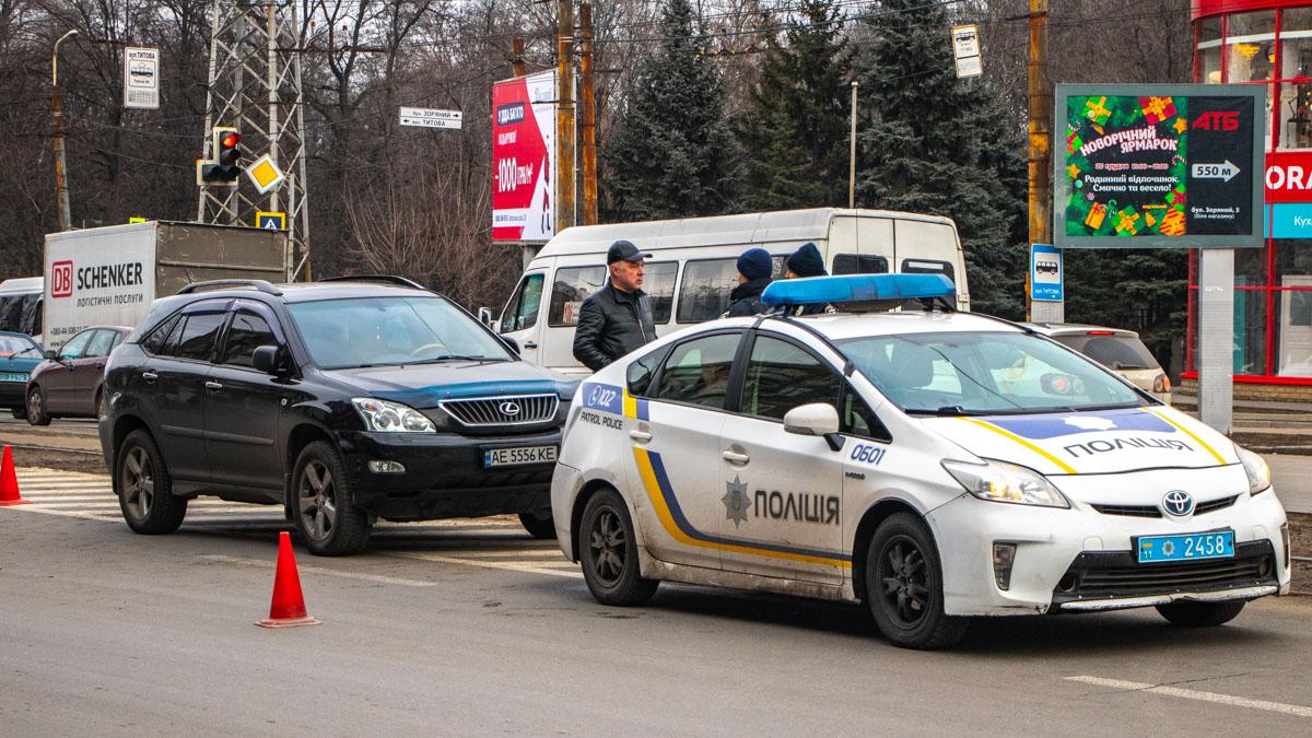 В Днепре произошла стрельба на дороге. Новости Днепра