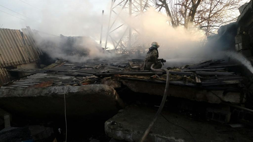 Взрыв газа и пожар: пострадавшего госпитализировали. Новости Днепра
