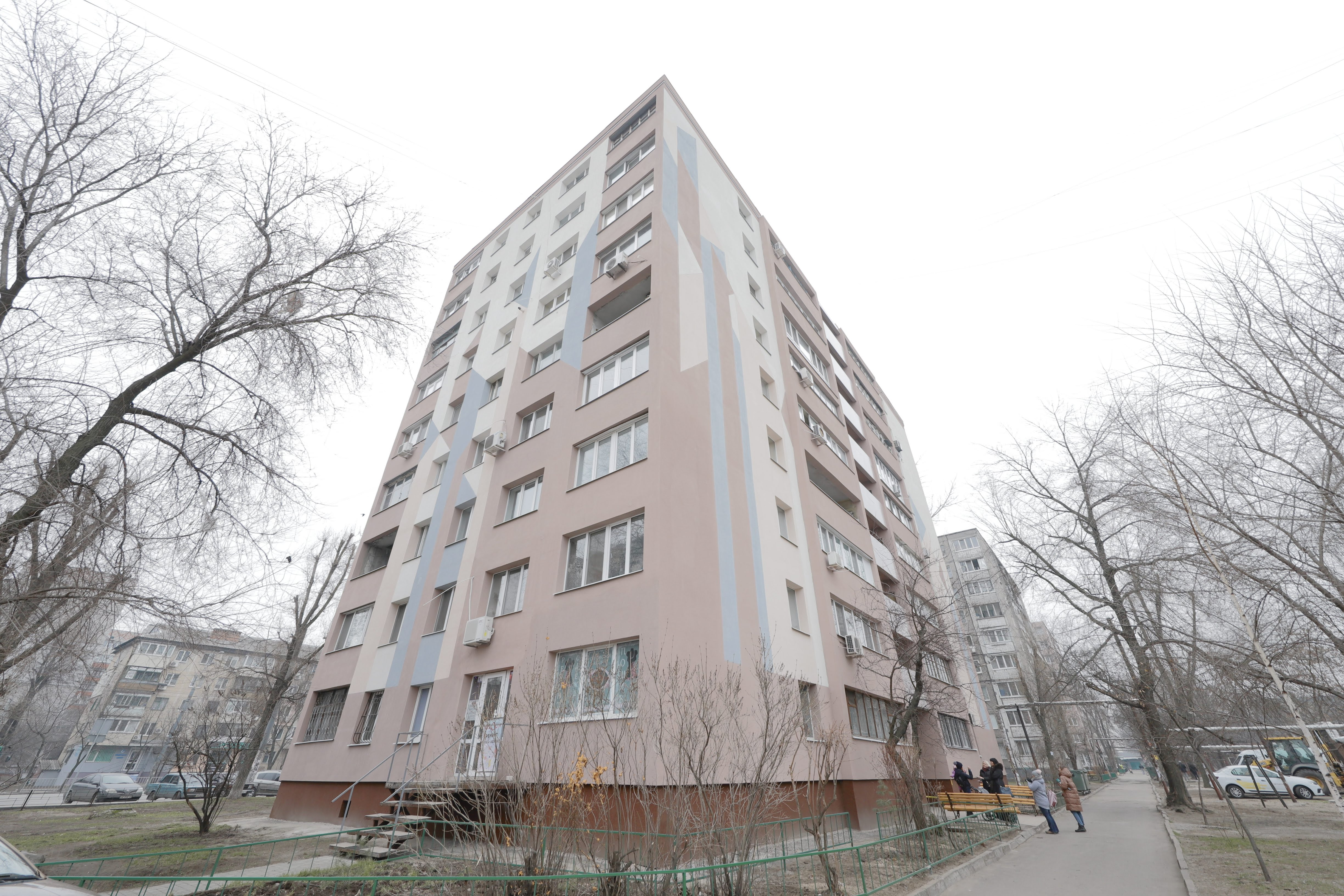 В Днепре продолжаются ремонты домов. Новости Днепра