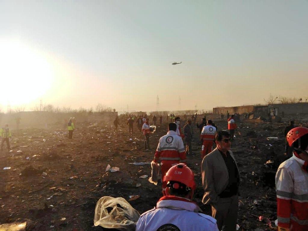 Разбился украинский самолет: на борту было 176 человек. Новости Украины