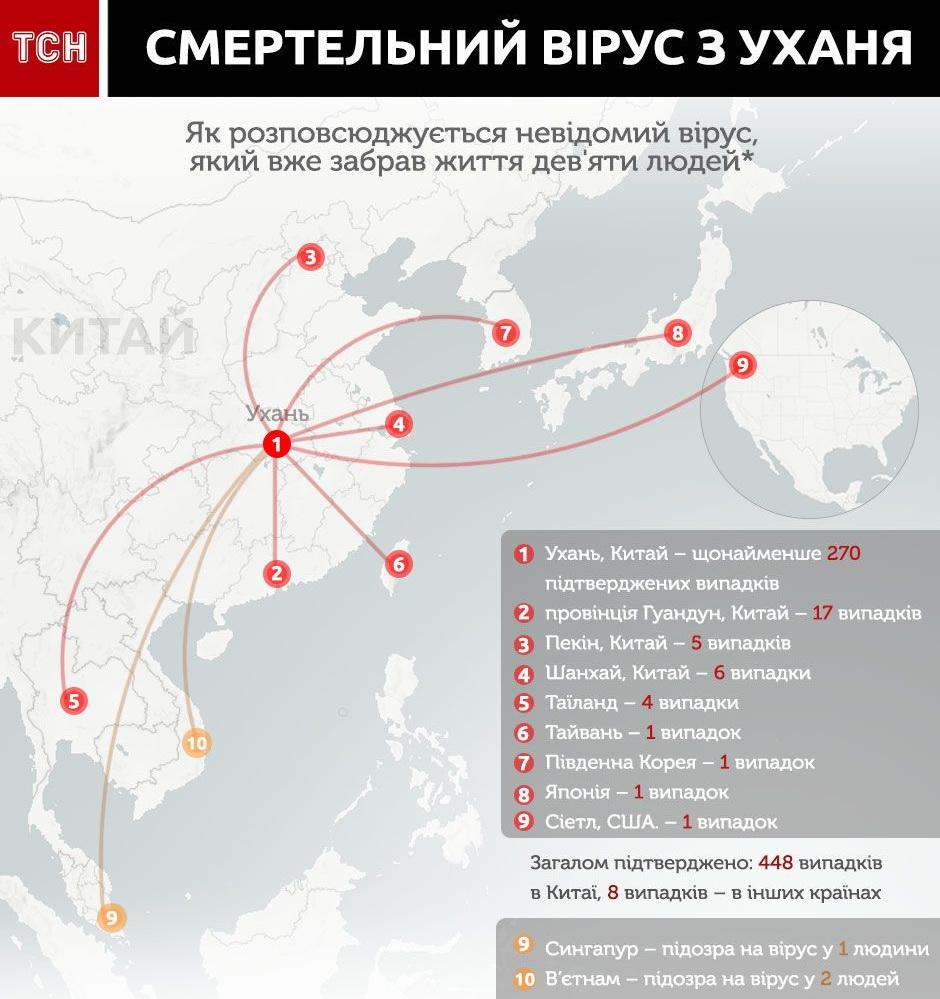 Смертельный вирус из Китая распространяется по миру: количество жертв растет. Новости мира